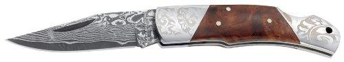 Magnum 01MB946DAM Damascus Duke Folding Knife with 2-1/2 in. Straight Edge Blade