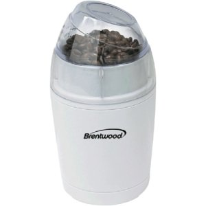Brentwood Coffee Grinder, White Coffee Makers - Grinders front-445739