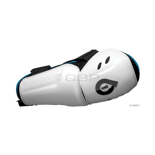SixSixOne Comp Protective Elbow Pad: White; MD