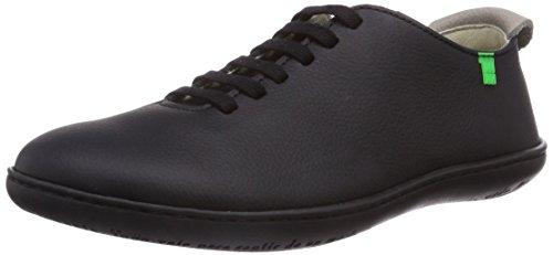 El Naturalista El Viajero, Low-Top Sneaker unisex adulto, Nero (Schwarz (Black-Black)), 40