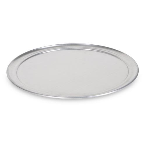Clipper Chef'S Classic Round Pizza Pan; Long Lasting 18 Gauge Solid Aluminum; Wide Rim; 14 Inch