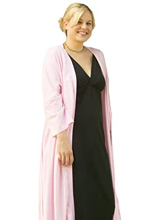 Aimee Gowns Original Bra-less Nursing Gown (Large, Black)