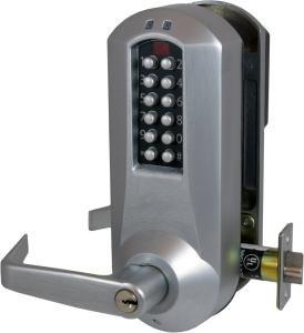 Kaba E Plex 5031 Lever Electronic Push Button Lock Key