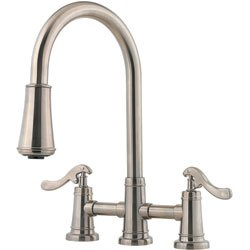 Price Pfister T531-YPK Ashfield Pull-Out Spray Kitchen Faucet - Brushed Nickel