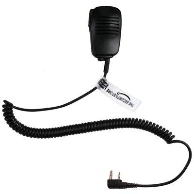 Heavy Duty Kevlar Speaker Microphone For Icom Radio
