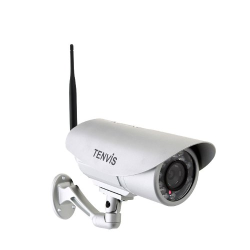Tenvis Ip391W-Hd P2P Wireless Network Ip Camera Webcam 720P H.264 Outdoor Waterproof Ir-Cut Night Vision Motion Detection Wifi 802.11 B/G/N front-233205