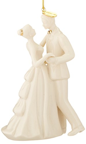 wedding Christmas ornaments 2016 - Lenox 2016 Always and Forever Bride and Groom Ornament""