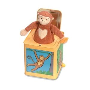 Jack The Monkey Tin Jack In The Box