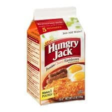 Hungry Jack, Premium Cheesy Hashbrowns, 4.2oz Carton (Pack of 9)