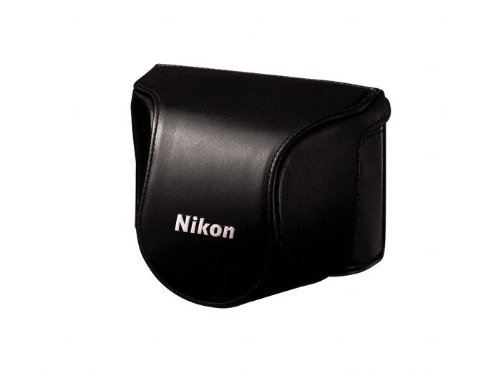 Nikon CB-N2000SA Black Leather Body Case Set