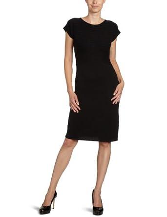 strenesse blue damen kleid knielang 235003 87608 gr 34 schwarz 990 bekleidung. Black Bedroom Furniture Sets. Home Design Ideas