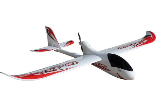 2.4Ghz 4-Channel Radio Remote Control Electric Fpv Raptor Skyrider 1.6 Meter Wingspan Rc Airplane Glider Rtf W/Brushless Set Up + Epo Durability