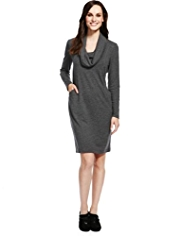 M&S Collection Cowl Neck Sweater Dress