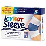 Icy Hot Maximum Strength Medicated Sleeve, Large, 3 Count Box (Pack Of 3)