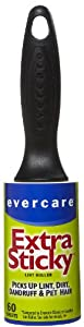 Evercare Extra Sticky Lint Pic-Up Roller, 60 sheets, 1 roll