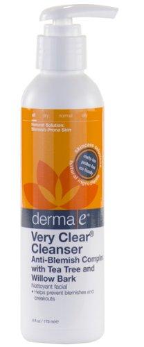 Derma E - Very Clear Problem Skin Cleanser, 177 ml liquid