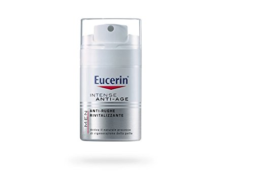 Eucerin Crema Viso Antirughe Rivitalizzante, Uomo - 50 ml