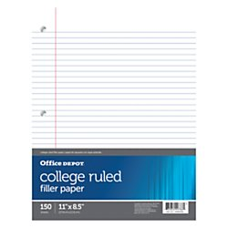 office-depot-notebook-filler-paper-college-ruled-8-1-2in-x-11in-3-hole-punched-white-pack-of-150-092
