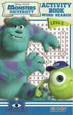 Monsters University Level 2 Activity Book Word Search - 1