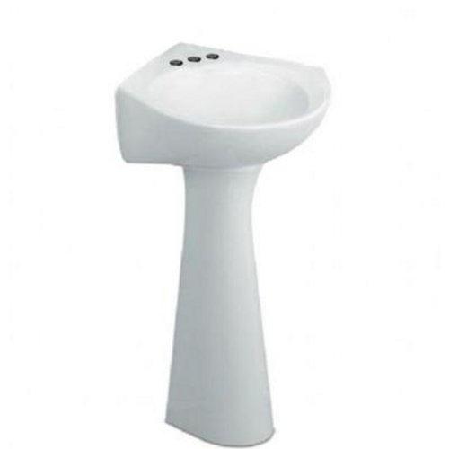 Why Should You Buy American Standard 0611.400.020 Cornice Pedestal Lavatory 4-Inch Center Sink, Whit...