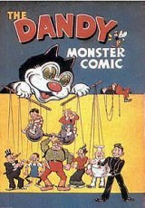 the DANDY monster comic ( annual 1948 )