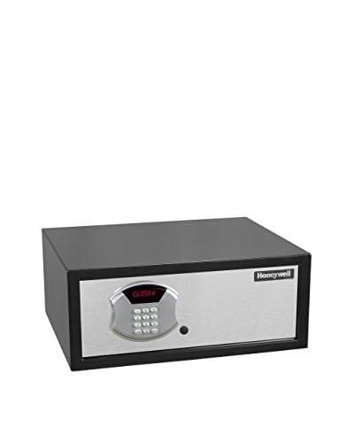Honeywell 1.10 Cu. Ft. Low-Profile Steel Security Safe, Black/Chrome