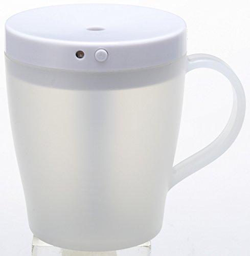 Cuore(クオーレ) 2WAYコンパクト加湿器 ホワイト 2電源(AC,USB) 2時間自動電源OFF機能付き CUO-KW1401U WH