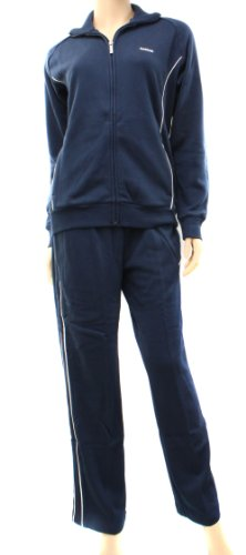 Reebok Womens Navy/White Tracksuit Size 3XL