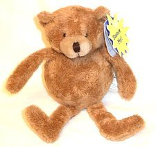 Purr-Fection Mackenzie Bouncy Buddy Brown Bear Plush