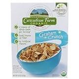 Cascadian Farm Organic Graham Crunch Cereal, 9.6 Ounce -- 10 Per Case.