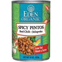 Eden Foods Bean Pinto Spicy Org 15 Oz Pack Of 12  from Eden Foods