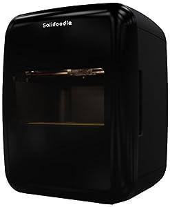 """Solidoodle Press Fully Assembled 3D Printer, 8"""" x 8"""" x 8"""" Maximum Build Dimensions; 0.1-mm Maximum Resolution; 1.75-mm ABS and PLA filament"""