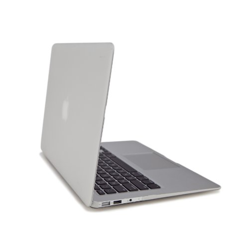 Enki AIRshell Protection Bundle +Silicone Keyboard Cover Clear Frost Macbook Air 13″