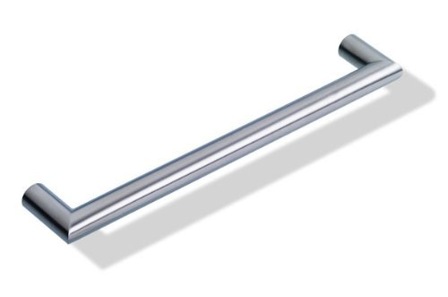 Griff Edelstahl Möbelgriff Schrankgriff aus Edelstahl, rund, Bohrlochabstand 160 mm