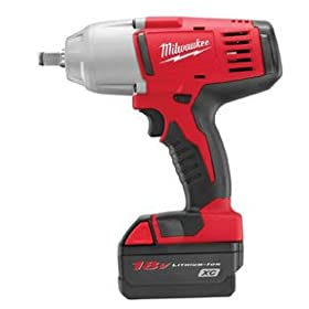 Milwaukee 2663-22 18-Volt M18 1/2-Inch High Torque Impact Wrench with Friction Ring