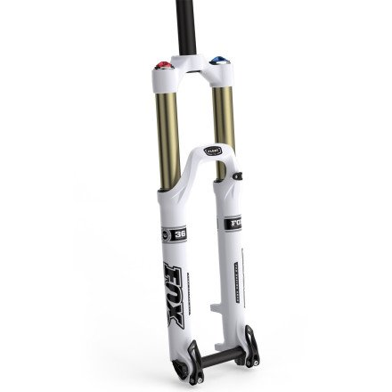 Fox Shox 36 Float 160 R Fork White, 20mm / 1-1/8in.