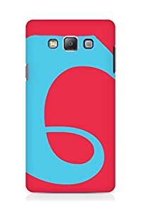 Amez designer printed 3d premium high quality back case cover for Samsung Galaxy A7 (Colorful Pattern)