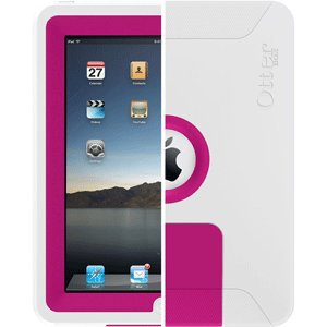 OtterBox Defender Series Case for Apple iPad - Pink/White