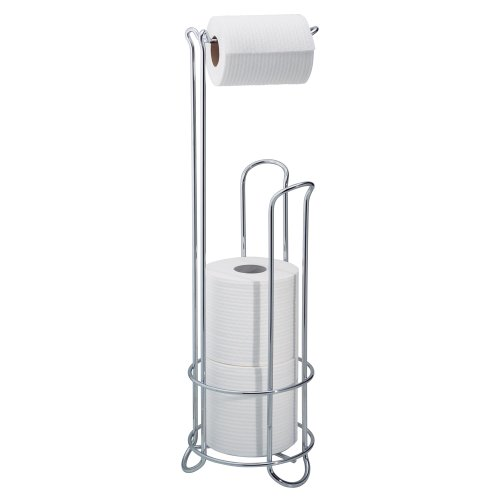 Interdesign Classico Roll Stand Plus, Chrome