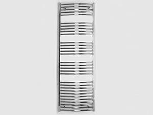 Badheizkörper Serie BH Chrom gebogen 1175mm x 600mm SXrechts und links  BaumarktÜberprüfung und Beschreibung