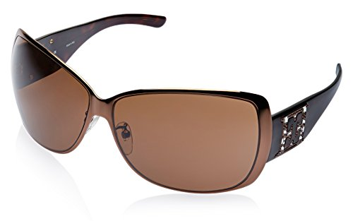 Escada Escada Oversized Sunglasses (Copper) (SES 679S|R80S|65) (Brown)