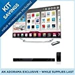 LG 55LA7400 55″ Cinema 3D Smart TV Bundle – with LG Electronics NB3530A 2.1 300w Soundbar with Subwoofer