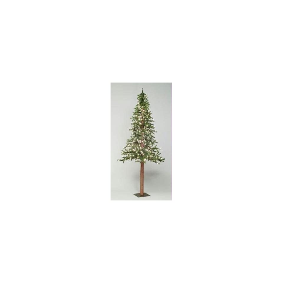 36 Pre Lit Natural Alpine Christmas Tree   Clear Lights