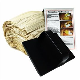 Corn Husks (1 lb) with Tamales Masa Spreader and Award Winning Recipe Kit - 3 ct (Corn Husk Shells compare prices)