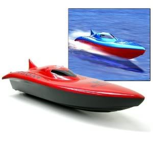 """Toy / Game 23"""" Balaenoptera Musculus Three Function Radio Remote Control Racing Boat (Colors May Vary)"""