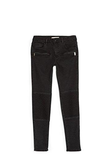 Mango Women'S Skinny Angel Jeans, Black Denim, 6
