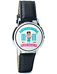 BigOwl Mom For All Your Love Analog Men's Wrist Watch 2239214526-RS1-W-BK1