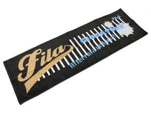 (フィラ)FILA スポーツタオル Q9139303 99 ブラック FreeSize3401100