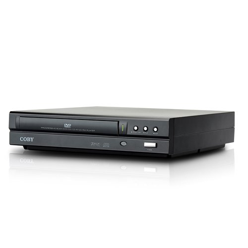 2 Channel DVD Player Black