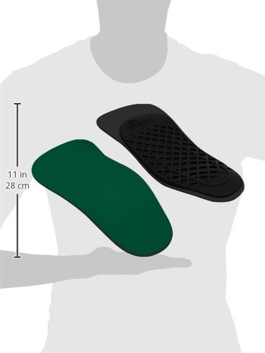 Spenco Rx Orthotic (3/4 Length), Women's 11-12 / Men's 10-11 (3 4 Shoe Inserts compare prices)